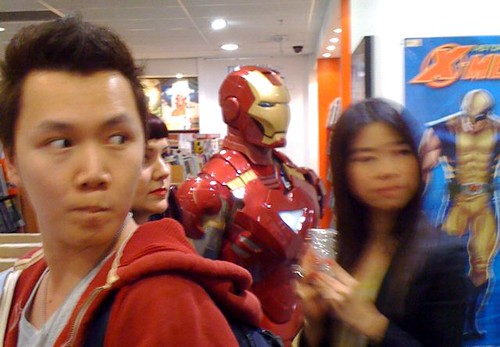 Ironman at at Kings Comics