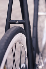 My fixie (Pedro Glez.) Tags: black bike track flat gear fork frame fixed lugged pinarelo