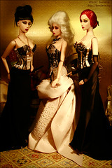 The Golden Age (Koroleva Irina) Tags: doll silk seville sybarite ooakfashion sybaritedoll lingeriefordoll sybaritegown