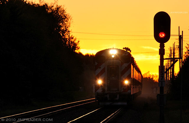 Geneva Railroad Sunset