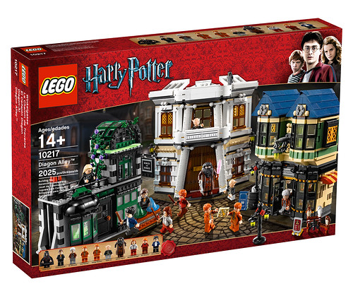 LEGO Harry Potter - 10217 Diagon Alley - Box