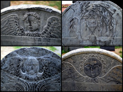 Salem Cemetery Headstone Collage