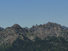 Governors ridge from lunch spot below Shriner Peak lookout.