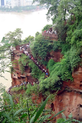 Leshan stairs