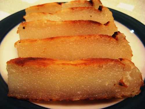 Cassava Cake Slices