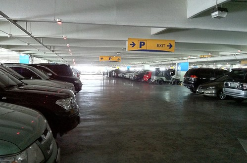 SM mall of asia parking space