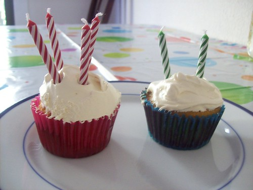 Grain and Sugar Free Birthday Cupcakes