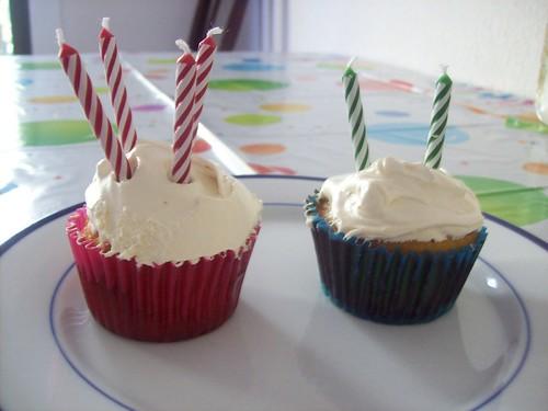 Grain and Sugar Free Birthday Cupcakes