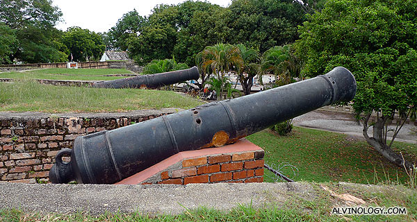 Ancient cannons