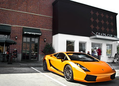 Lamborghini Gallardo Superleggera (texan photography) Tags: orange texas bright low houston lamborghini houstontexas gallardo superfast lamborghinigallardo superleggera worldcars lamborghinigallardosuperleggera nicerims texanphotography