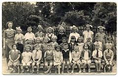 Fane School 1947/48 teacher Miss Noble