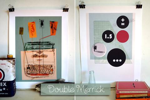 Double Merrick Prints by Merrick Angle