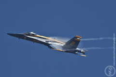 Vapors (Wade Courtney) Tags: blue usmc gold jets navy airshow planes marines hornet fighters blueangels miramar usn fa18 fa18hornet