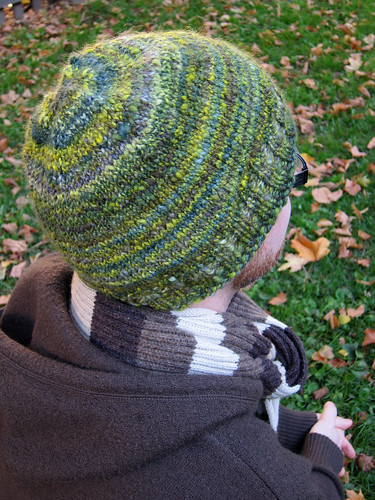 Hat from my handspun