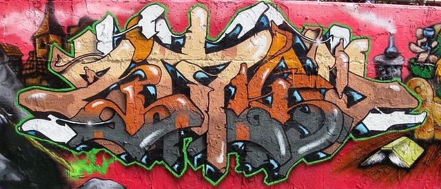 ZIMAD GRAFFITI HALL OF FAME NYC
