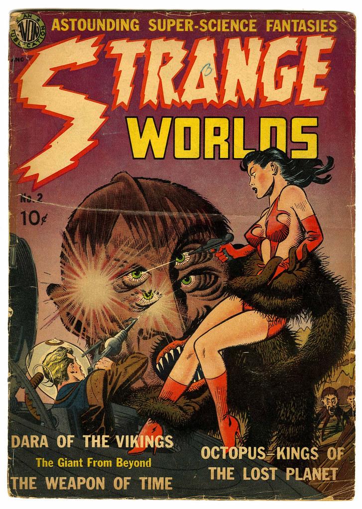 Strange Worlds #2 (Avon)