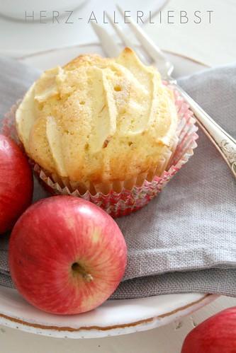 Kleiner Apfel-Zimt Kuchen