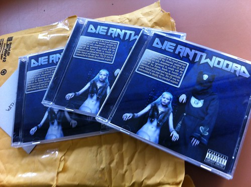 Unexpected awesomeness at the post office! #dieantwoord