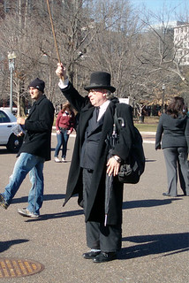 The Penguin Salutes the White House