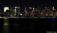 NYCSkyline Panorama Closeup (TvAvMeV) Tags: park new york city nyc railroad sea panorama water closeup skyline century canon liberty downtown state manhattan central nj photowalk jersey l hudson showcase f4 19th crrnj 24105mm t1i
