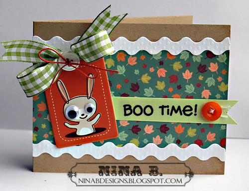 Halloween Boo Time