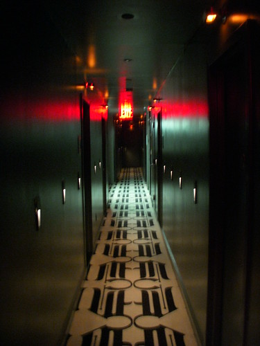 Hallway at the Night Hotel