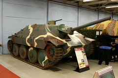 WW2 1944 German Hetzer Jagdpanzer 38(f) Self-Propelled Gun (Tank Destroyer) (growler2ndrow) Tags: army military wwii german dorset ww2 1944 tanks bovington thetankmuseum