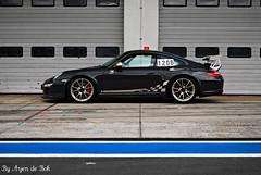 Porsche 997 GT3 RS MK2 (arjendebok) Tags: blue germany dark de nikon f1 ring porsche bok mk2 sh rs scuderia section gp 2010 pitlane gt3 997 nurburgring d60 arjen nurburg hanseat arjendebok