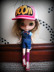 Ghetto Girl (ImAGingerMonkey) Tags: ca mohair blythe custom rbl zaloa casualaffair milkyrobot