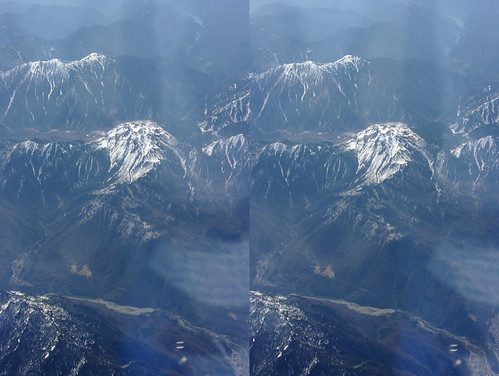 Mount Yake, stereo parallel view