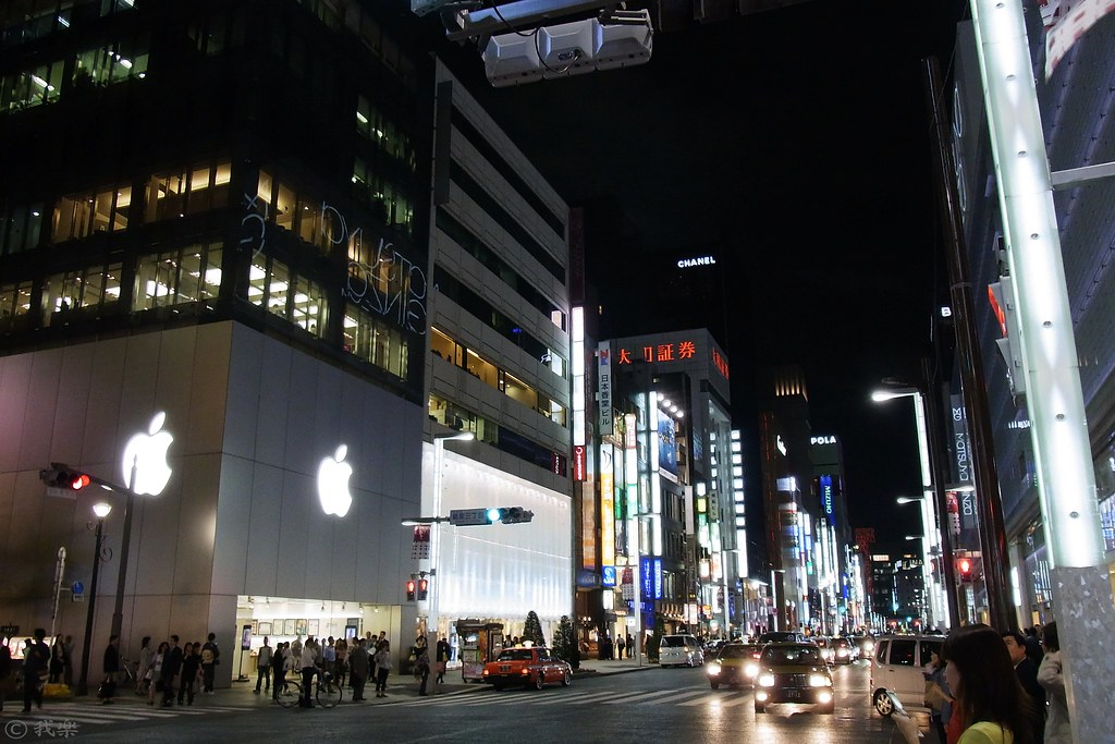 the night of Ginza #3