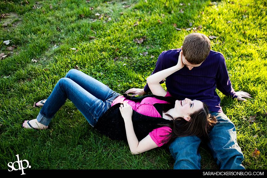 Loose Park, Kansas City Missouri engagement photographer