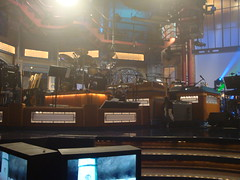 David Letterman's studio (kate_soundcheck) Tags: nyc ny newyork live lateshow gorillaz clinteastwood davidletterman lateshowwithdavidletterman edsullivantheater plasticbeach empireants escapetotheplasticbeach