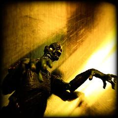 Former Dentist (Dalmatica) Tags: portrait halloween toy scary zombie walk creepy plastic horror undead creeper wobbly dalmatica marianatomas halloweencountdown img1458