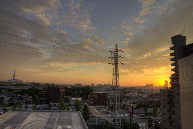 HDR Kameari Sunrise (10.8.10) v2