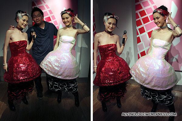 Me with Hong Kong pop duo, TWINS
