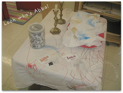 Shabbat Table 2010-2011
