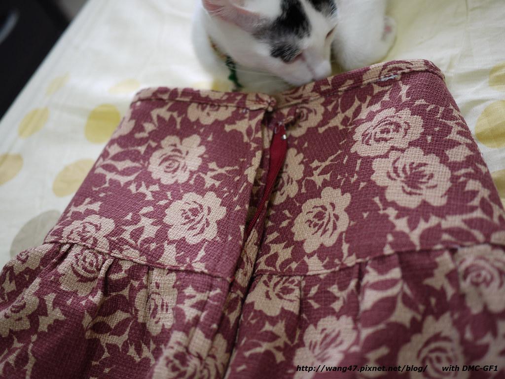 20101010-01喜佳洋裁作品二‧裙子