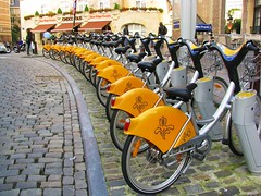 Brussels' bikes hire