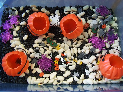 October/Halloween Sensory Box