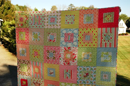 Verna Scruffily Quilt - top