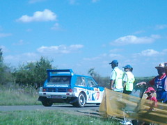 Rear view of a 6R4 (74Mex) Tags: old deutschland rally slowly platte timer sideways 2010 historics kleine panzerplatte moselland moselwein