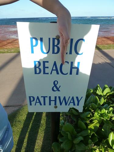 Pubic Beach & Pathway