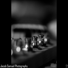 (Jacob-Photography) Tags: bw canon guitar strings 100mmmacro rebelxs