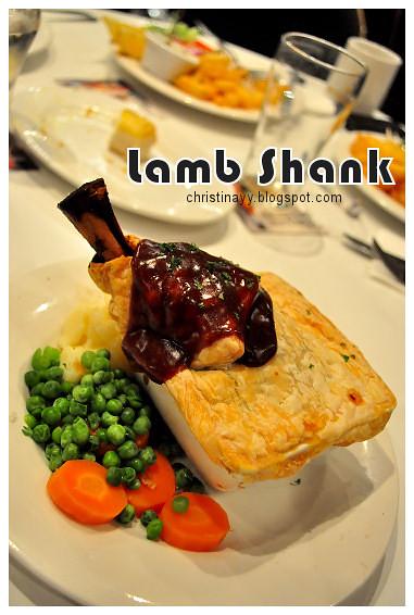 Christopher's Restaurant: Lamb Shank