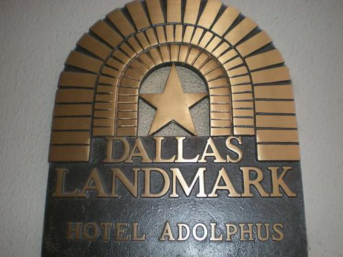 Dallas TX landmark sign