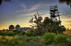 Haunted house - Kissimmee Prairie Reserve (Kristian Bell) Tags: house bell florida reserve haunted kris prairie kristian kissimmee hdr