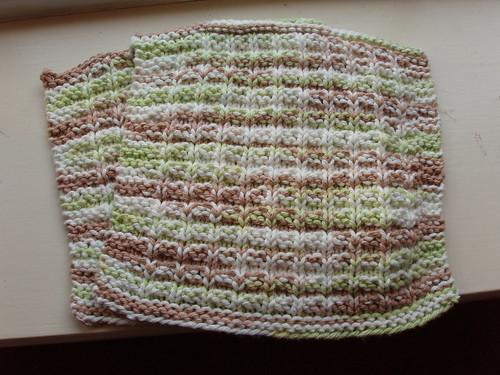 Knit Waffle Stitch Dishcloth : Waffle Stitch Dishcloth Knit, Inc