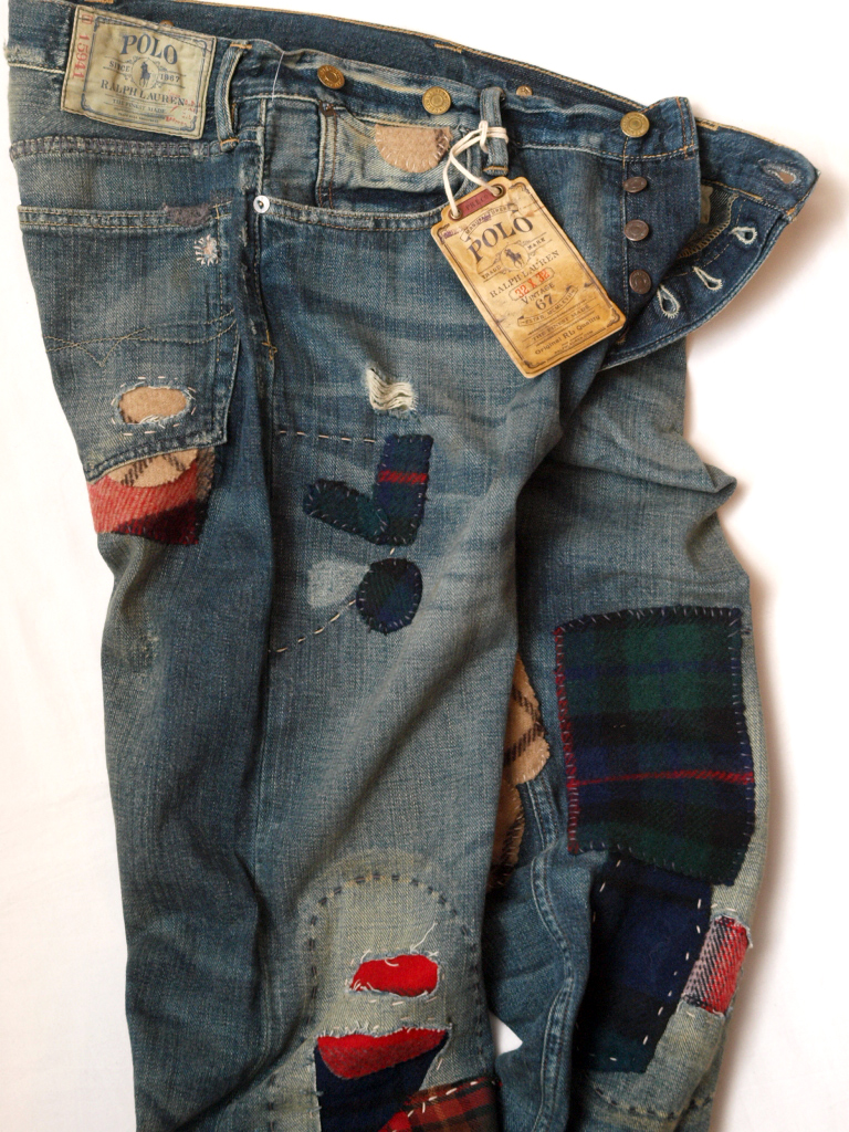 Ralph Lauren / Camden Patchwork Denim