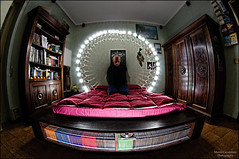 Crown Light ( Marco Carotenuto ) Tags: light fish eye strange photoshop photo google search nikon flickr artistic flash fisheye fantasy corona fantasia di imagination marco crown luci 8mm speedlight luce strobo obscure immaginazione artistico oscuro photogrphy samyang cs5 sb900 carotenuto d300s